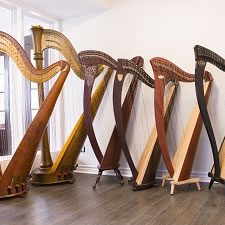 How to buy a harp in Montreal
